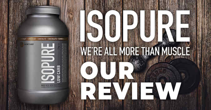 Isopure Low Carb Review