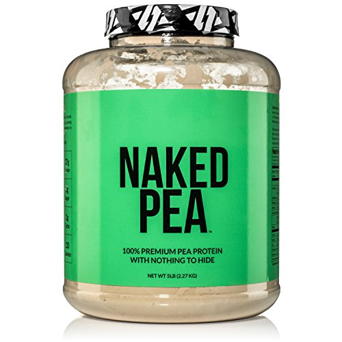 5LB 100 Pea Protein Powder from North American Farms Vegan Pea Protein Isolate Plant Protein Powder Easy to Digest Speeds Muscle Recovery 0 - Naked Pea