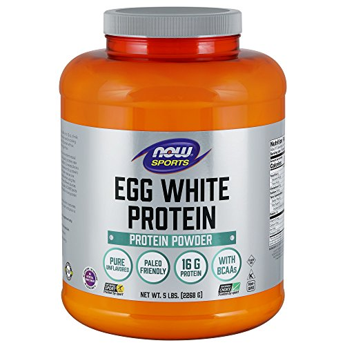 Now Sports Eggwhite Protein Unflavored 5 Pound 0 - Now Sports Egg White Protein