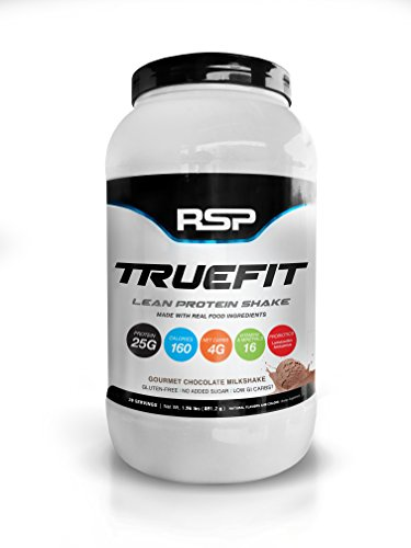 RSP TrueFit Lean Meal Replacement Protein Shake with Fiber Probiotics from Essential Real Whole Foods 2 Pound Protein Powder for Men Women 0 - RSP TrueFit