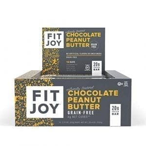 FitJoy Protein Bars Low Carb Low Sugar Gluten Free High Protein Snacks 0 300x300 - FitJoy Protein Bars <span>12 Pack</span>