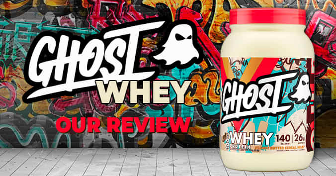 GhostWheyReview - Ghost 100% Whey Protein - Review