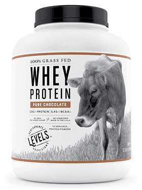LevelsGFWheyIsolateChoc - Levels 100% Grass Fed Whey - Review